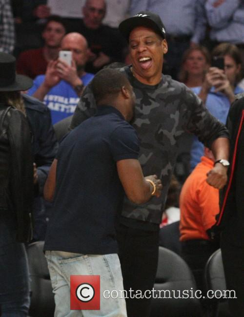 Kevin Hart and Jay Z 9