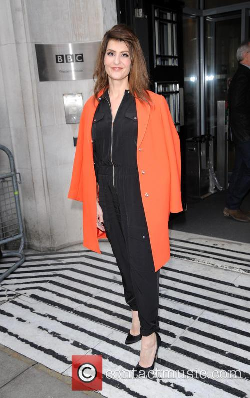 Nia Vardalos at BBC Radio 2