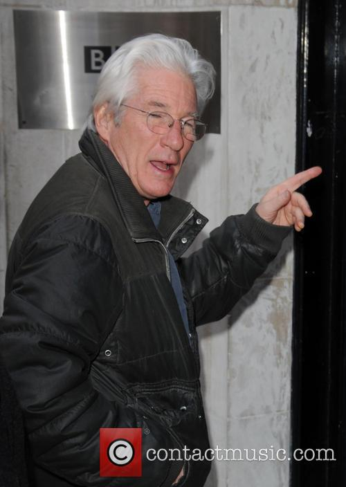 Richard Gere at BBC Radio 2