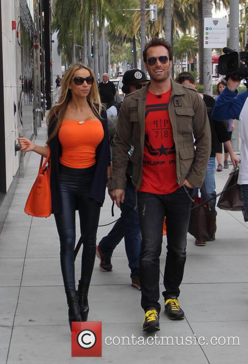 Bastian Yotta and his wife Maria out and...