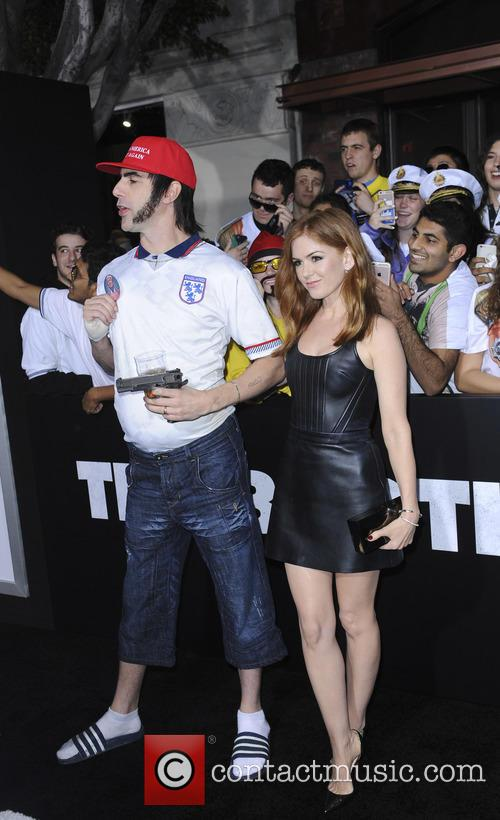 Sacha Baron and Isla Fisher 2