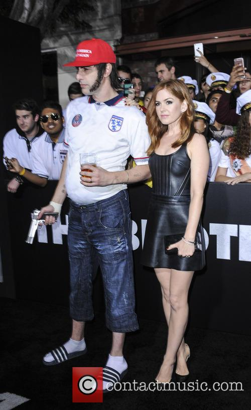 Sacha Baron and Isla Fisher 3