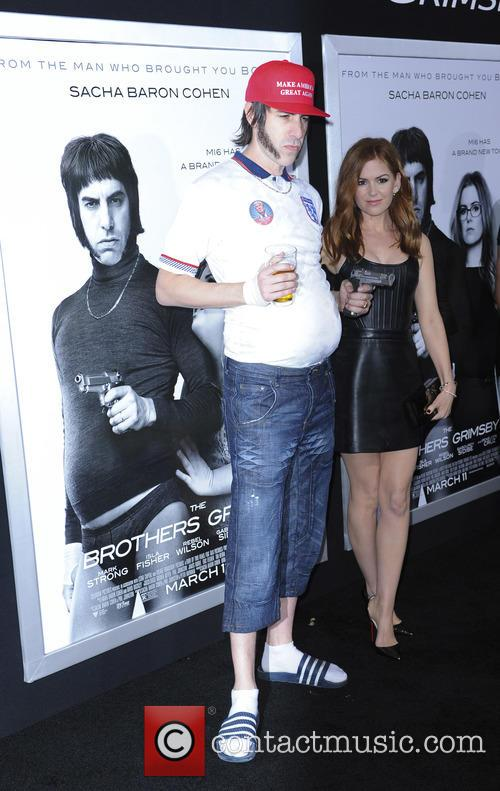 Sacha Baron and Isla Fisher 4