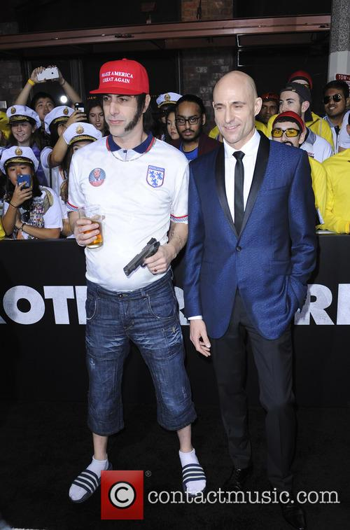 Sacha Baron and Mark Strong 5
