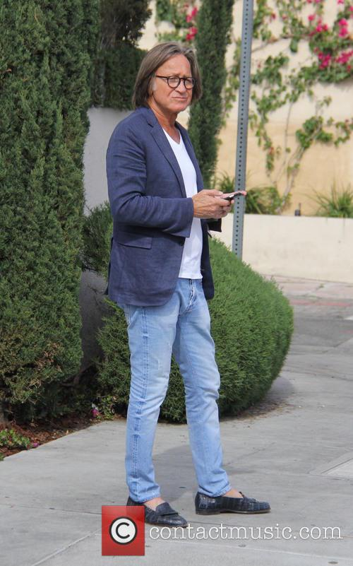 Mohamed Hadid goes for lunch at Il Pastaio