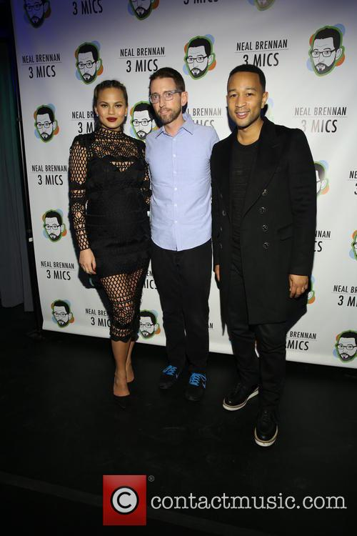 Chrissy Teigan, Neal Brennen and John Legend 1