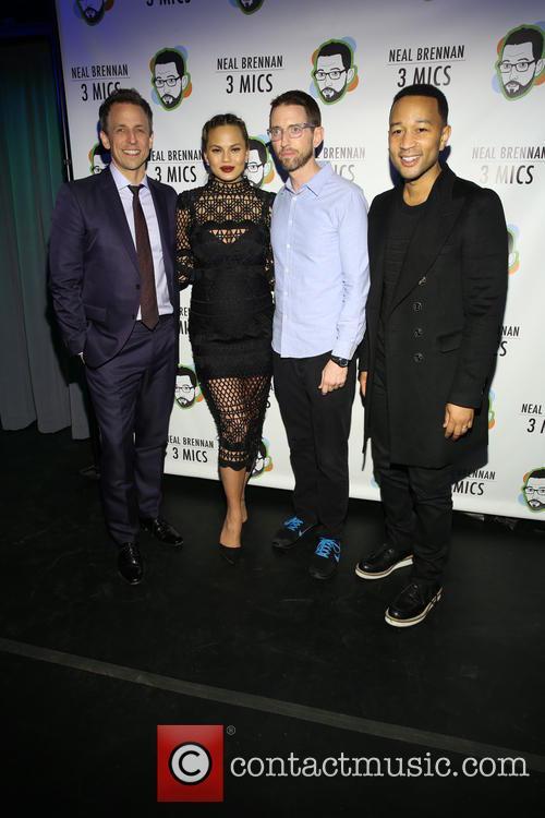 Seth Meyers, Chrissy Teigan, Neal Brennen and John Legend 3