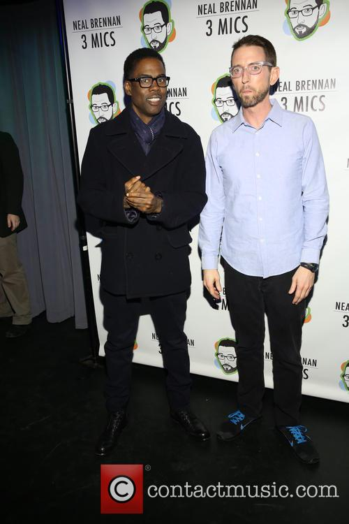 Chris Rock and Neal Brennen 1