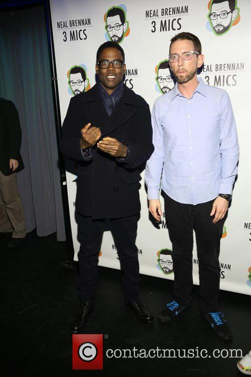 Chris Rock and Neal Brennen 2