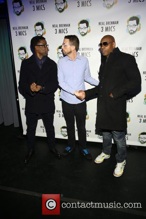 Chris Rock, Neal Brennen and David Chappelle 7