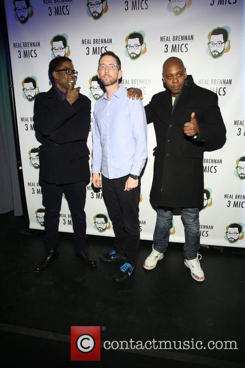 Chris Rock, Neal Brennen and David Chappelle