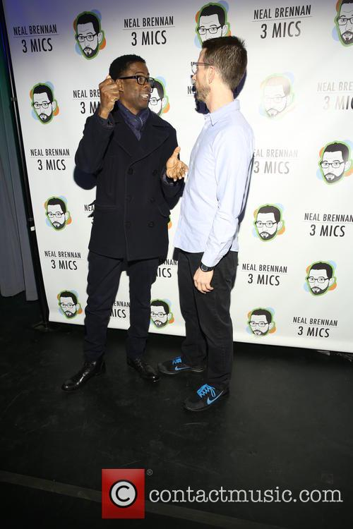 Chris Rock and Neal Brennen