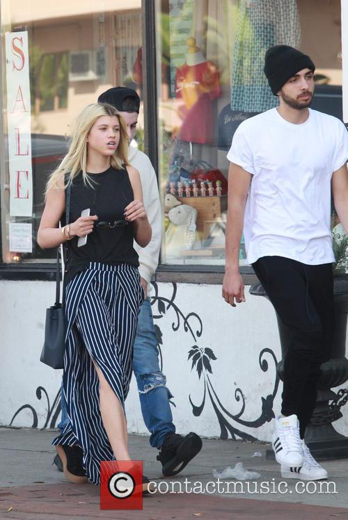 Sofia Richie out and about with the boyfriend...