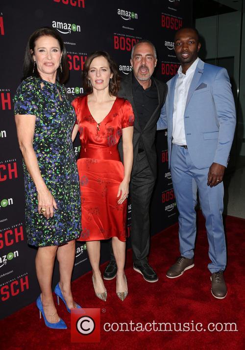 Mimi Rogers, Sarah Clarke, Titus Welliver and Jamie Hector 8