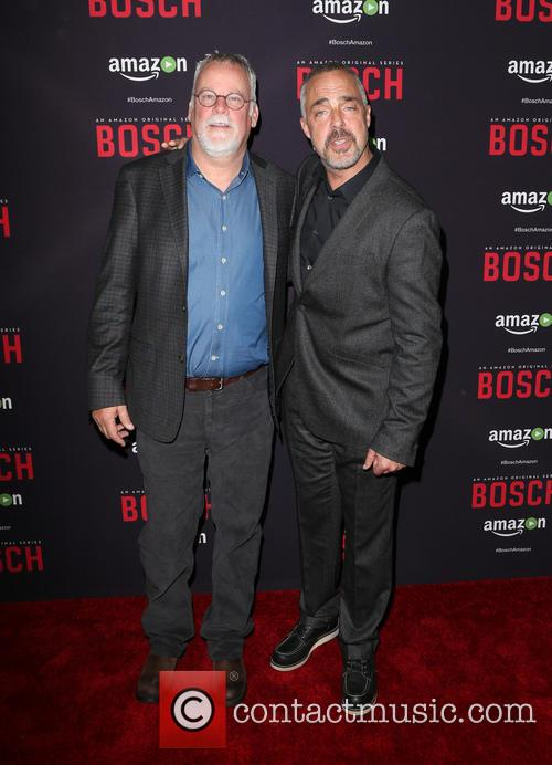 Michael Connelly and Titus Welliver 5