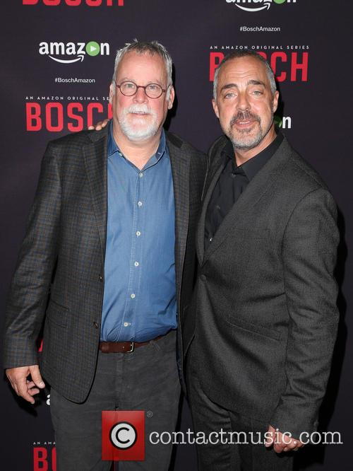 Michael Connelly and Titus Welliver 6