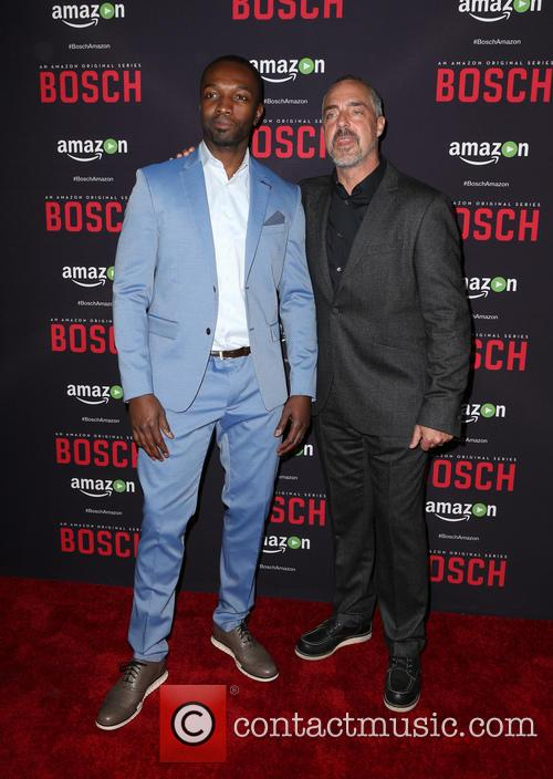 Jamie Hector and Titus Welliver 3