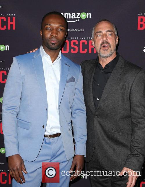 Jamie Hector and Titus Welliver 4