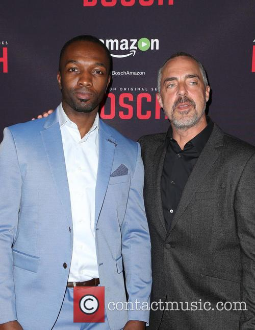 Jamie Hector and Titus Welliver 5