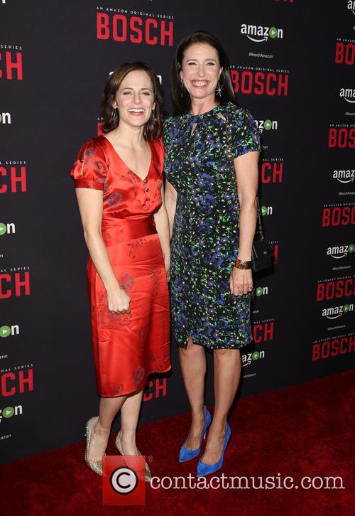 Sarah Clarke and Mimi Rogers 8