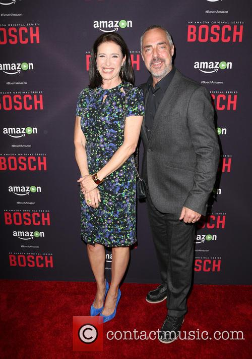Mimi Rogers and Titus Welliver 10