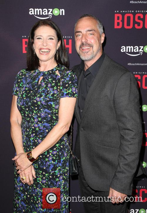Mimi Rogers and Titus Welliver 11