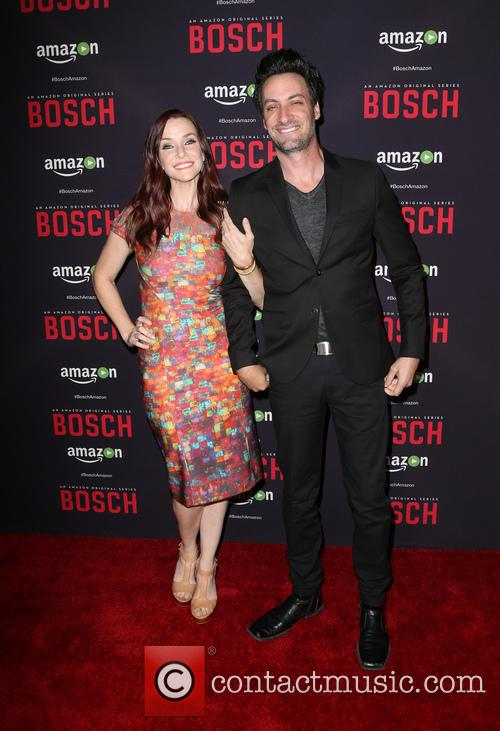 Annie Wersching and Stephen Full