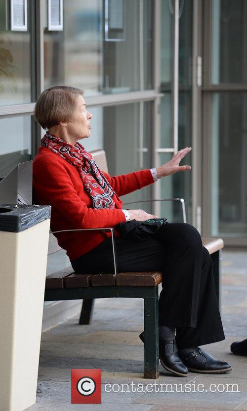 Glenda Jackson at Media City