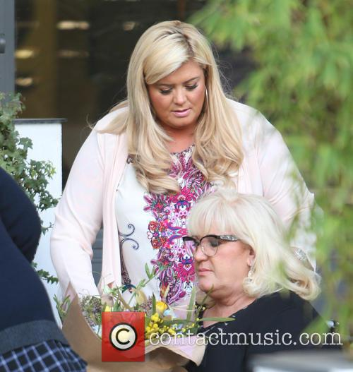 Gemma Collins and Joan Collins 2