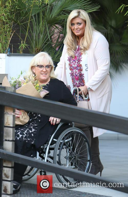 Gemma Collins and Joan Collins 4