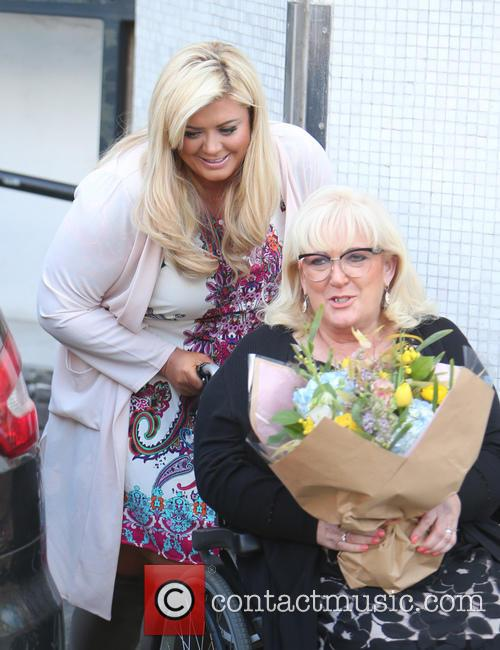 Gemma Collins and Joan Collins 10