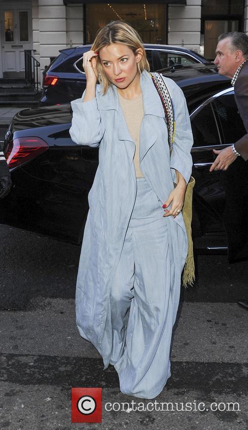 Kate Hudson at Claridges Hotel