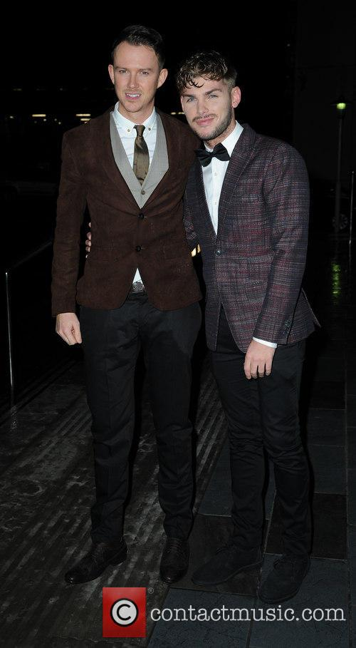 Kieron Richardson and Carl Hyland 1