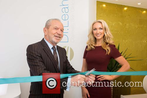 Dr. Leah Totten and Sir Alan Sugar 2