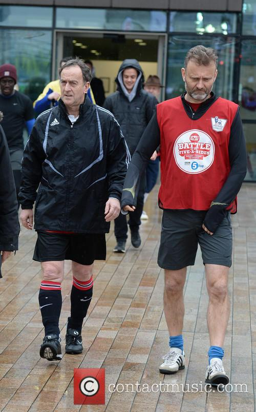 Angus Deayton and Hugh Dennis