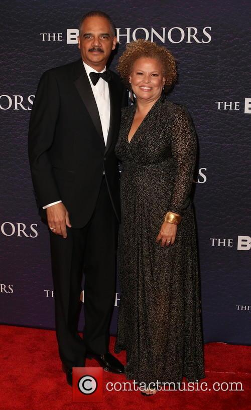 Eric Holder and Debra Lee 2