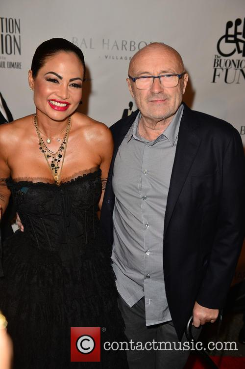 Orianne Cevey and Phil Collins 3