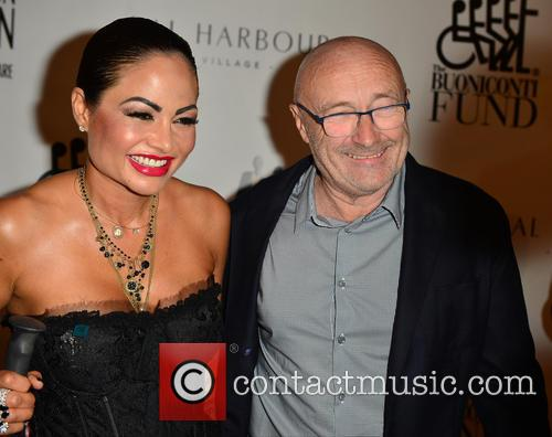 Orianne Cevey and Phil Collins 4