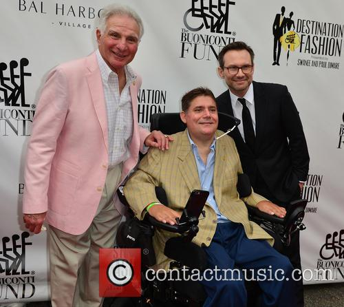 Nick Buoniconti, Marc A. Buoniconti and Christian Slater 2