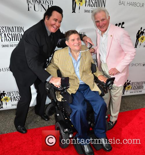 Wayne Newton, Marc A. Buoniconti and Nick Buoniconti 5