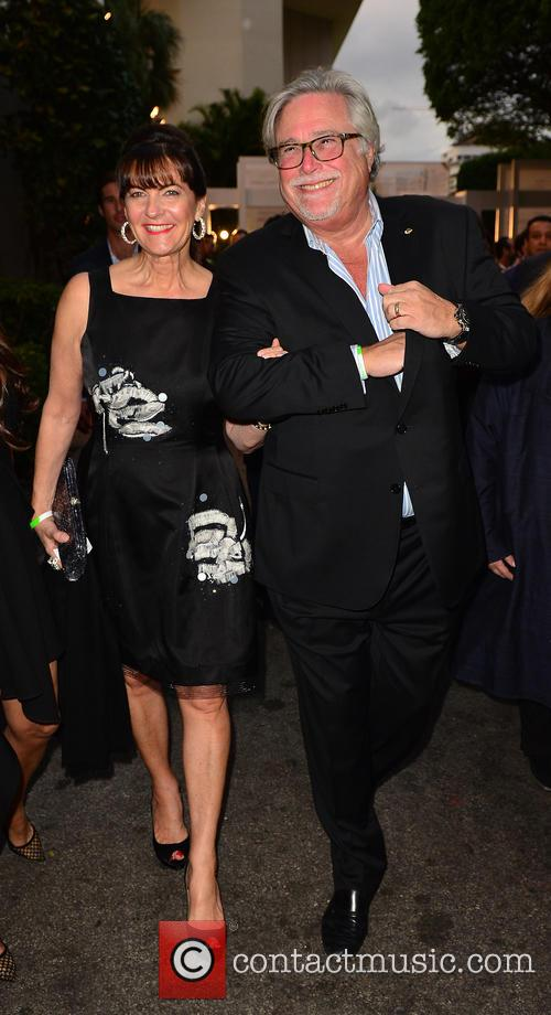 Madeleine Arison and Micky Arison 1