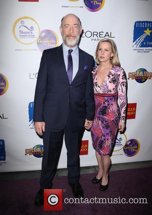 J.k. Simmons and Michelle Schumacher 2