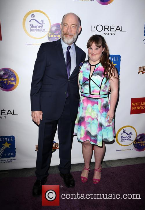 J.k. Simmons and Jamie Brewer 9
