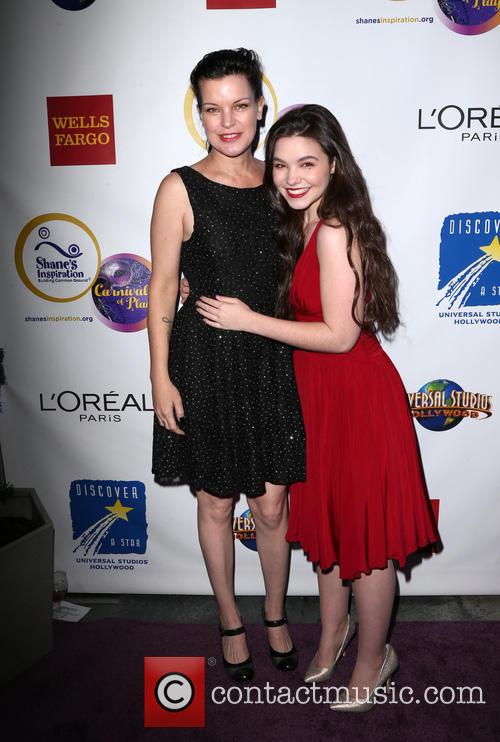 Pauley Perrette and Madison Mclaughlin 4