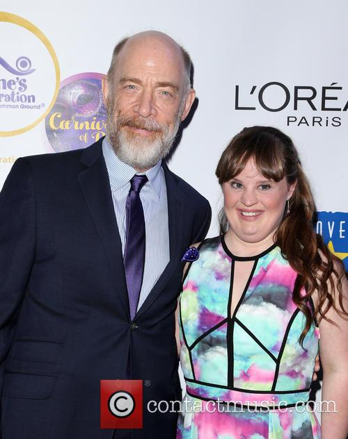 J.k. Simmons and Jamie Brewer 10