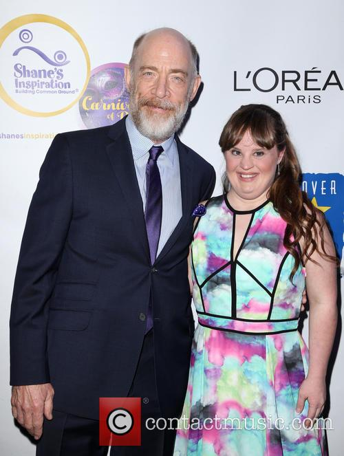 J.k. Simmons and Jamie Brewer 11
