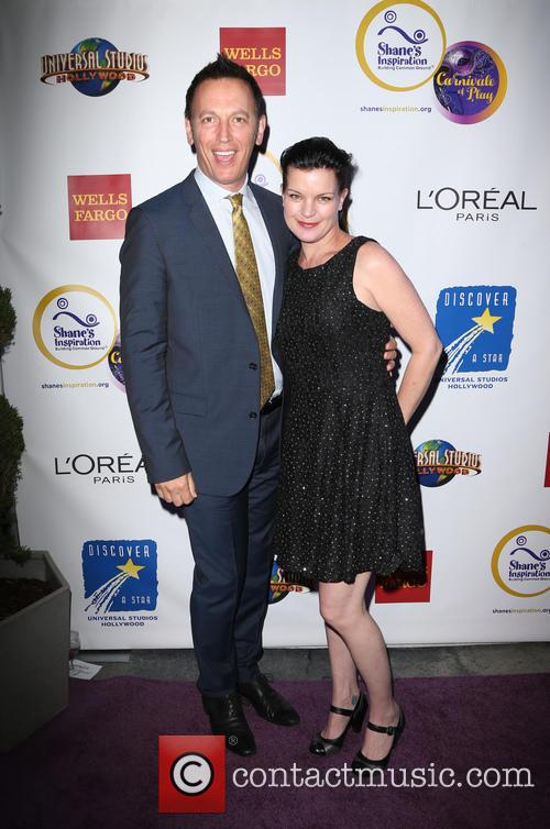 Steve Valentine and Pauley Perrette 1
