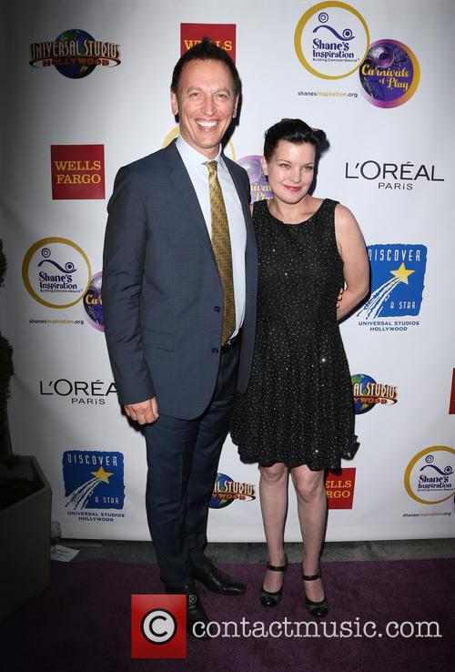 Steve Valentine and Pauley Perrette 5