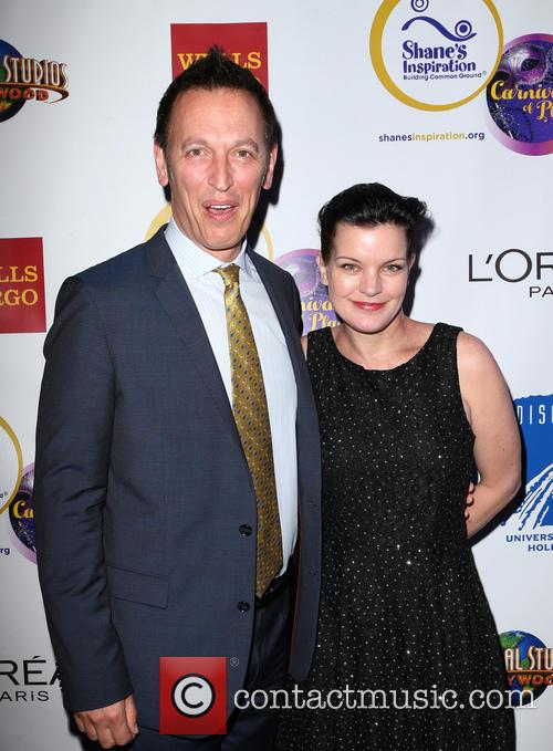 Steve Valentine and Pauley Perrette 7