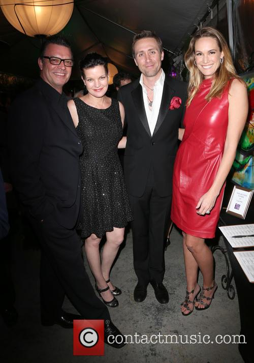 Thomas Arklie, Pauley Perrette, Philippe Cousteau Jr. and Ashlan Cousteau 1